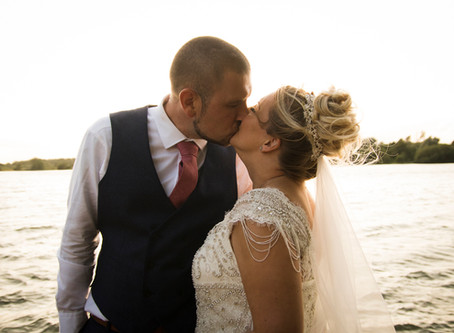 Mr and Mrs Sinclair: A Windy Wedding at Grendon Lakes!