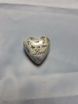"""Art Hearts - """"Trust in the Lord"""""""
