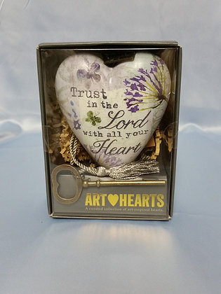 "Art Hearts - ""Trust in the Lord"""