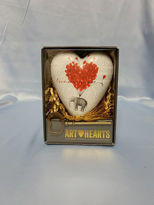 "Art Hearts - ""Love Carries All"""