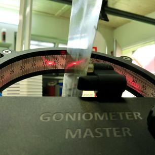 Kontrola goniometrem