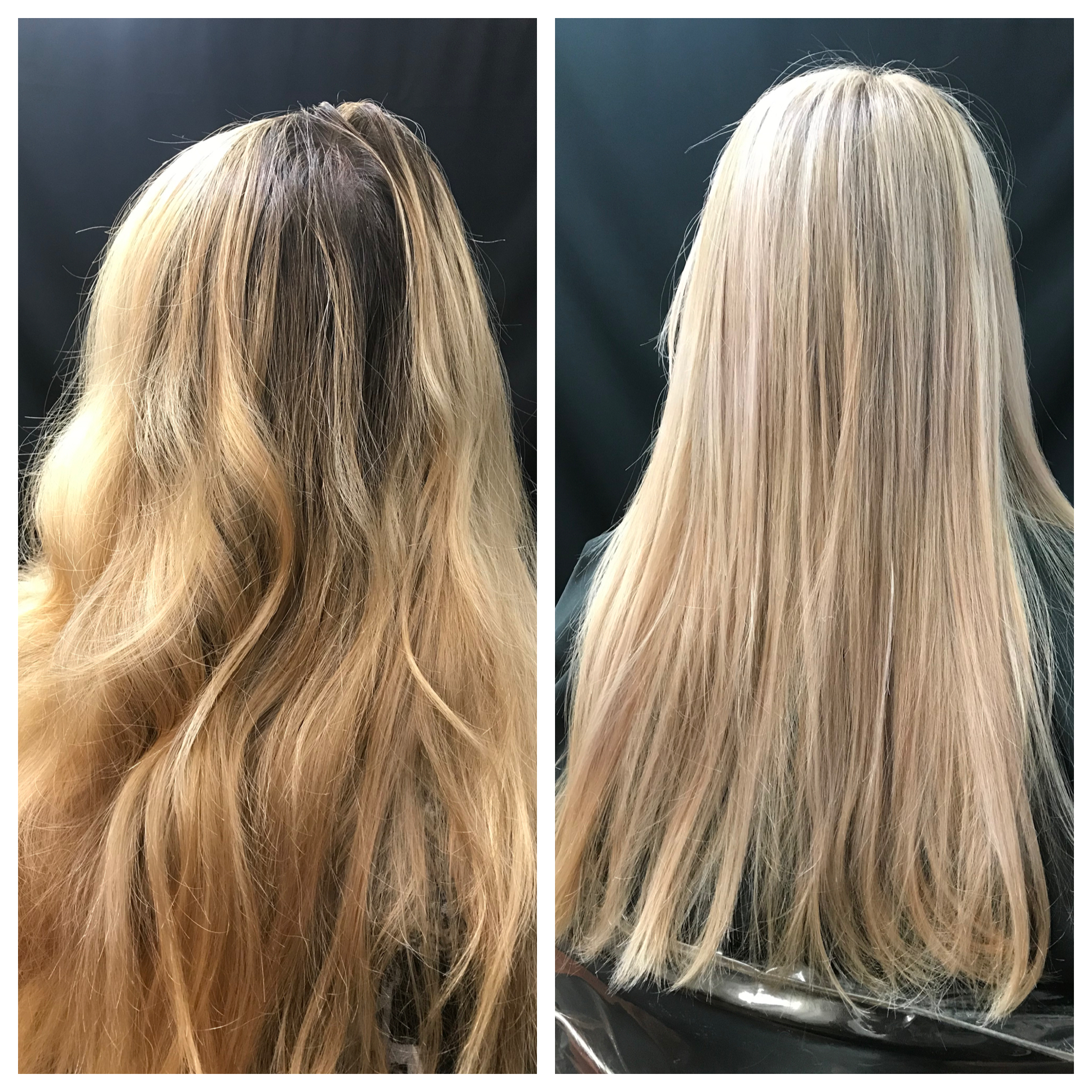 Full Highlight Multi-tonal Blonde
