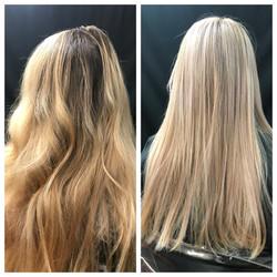 Full Highlight Multi-tonal Blonde