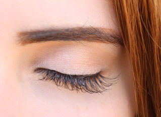 Barren lashes get keratin care with a lash lift!
