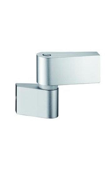 Dorma LM-A36.1 Aluminium Hinge 2 Part Silver