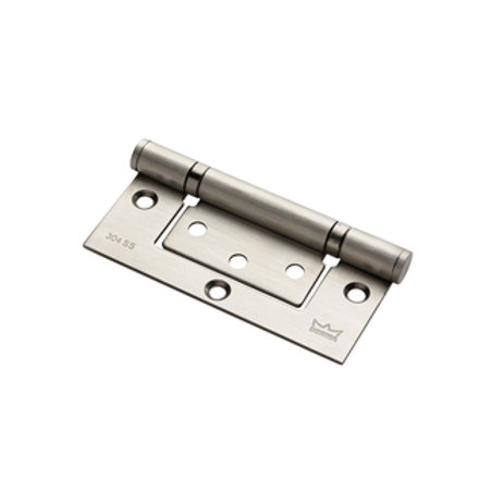 "Dorma 4""x3""x2.5mm 2BB Flush Hinge SS`"