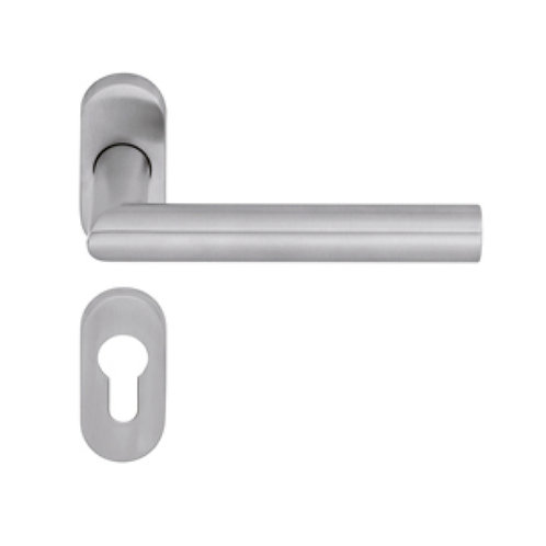 Dorma Pure 8906/6621 W/Oval shape Lever Handle (RH) SS