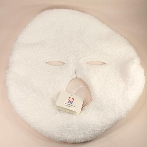 ゴム付き顔型タオル白(洗い替えよう)