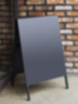 Signboard Stand Blackboard cafe Menu Sho
