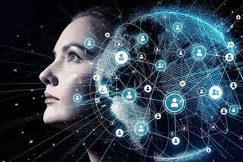 Global communication network and AI (Art