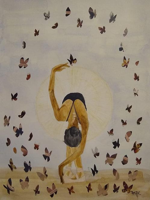 Merci - 40 x 30 cm - por Fernanda Mascarenhas Kuhn