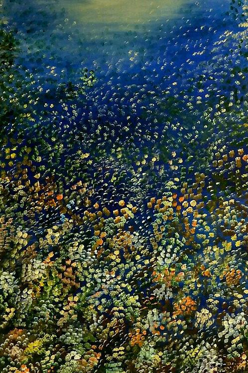 Deep ocean - 50 x 80 cm - por Sueli Baptisaco
