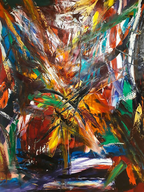 Synfonic 120 x 90 cm - por Daniel Manoogian