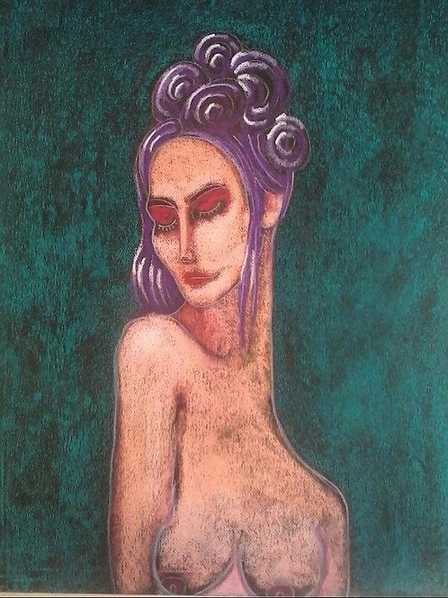 Afrodite II - 64 x 50 cm - por Rafael Ludicanti
