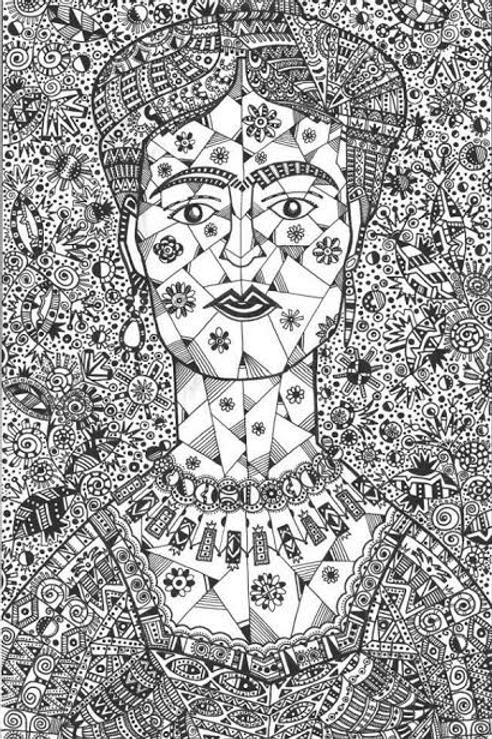 Frida Monocromática - 50,5 x 38 cm - por Israel Melo