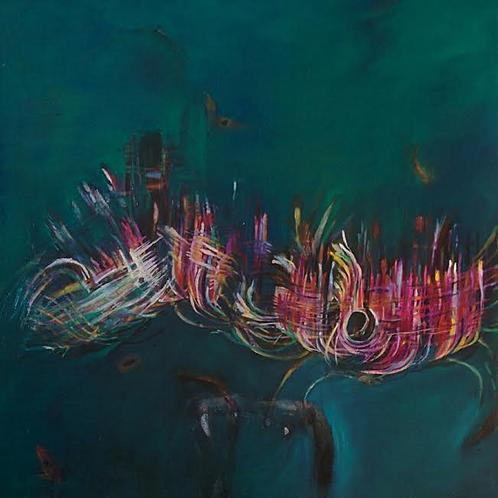 Last Minute Drastic Measures - 61 x 60,5 cm - por Sarah Valeri