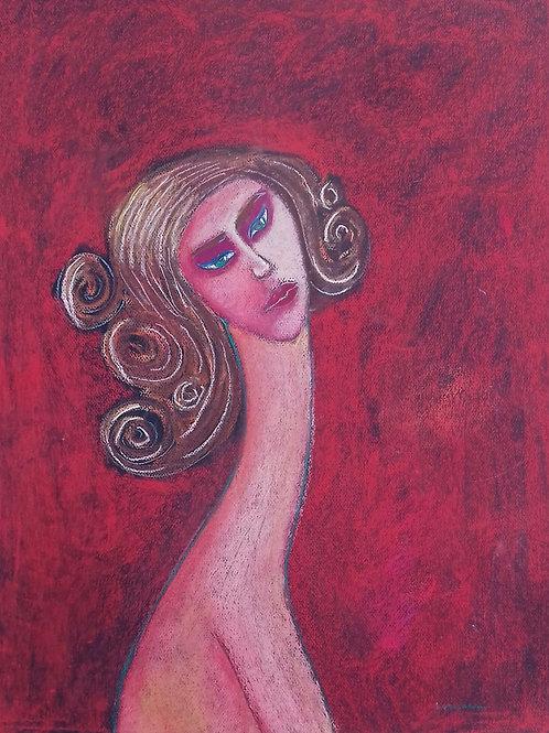 Afrodite IV - 64 x 50 cm - por Rafael Ludicanti