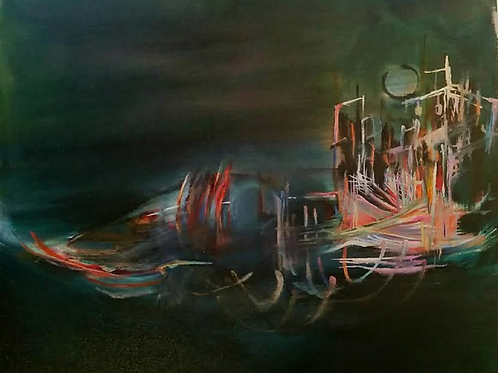 Litwreck - 60,5 x 60 cm - por Sarah Valeri