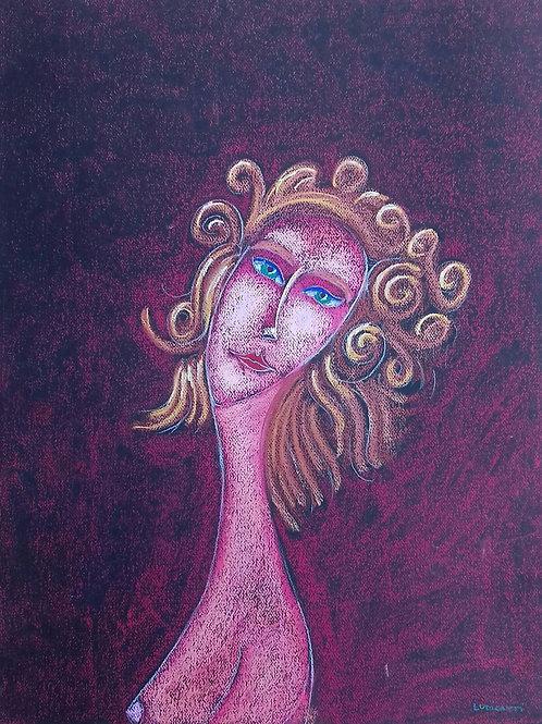 Afrodite V - 64 x 50 cm - por Rafael Ludicanti