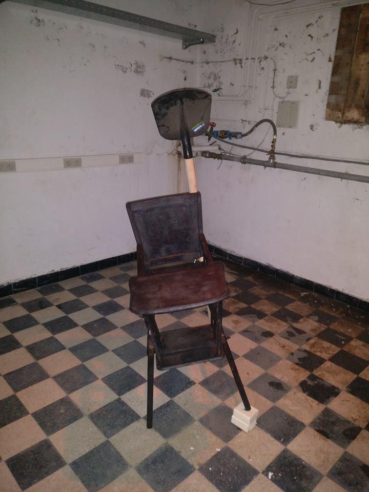 Kinderstoel by Herwig Nulens voor Art27-20187