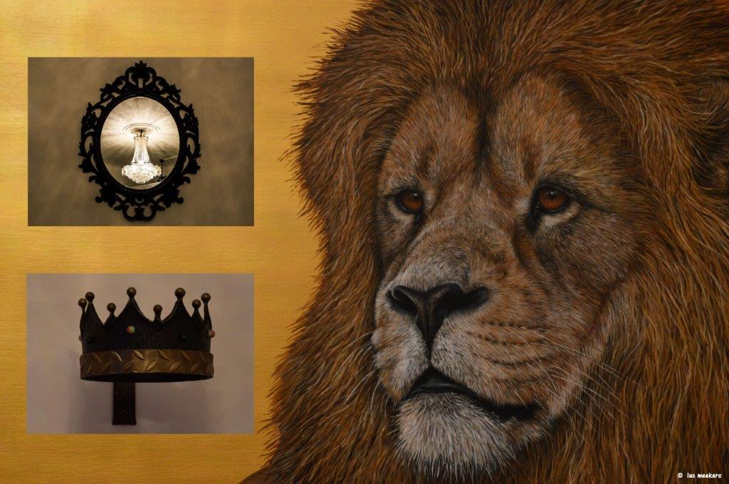 leeuw en kroon en luster