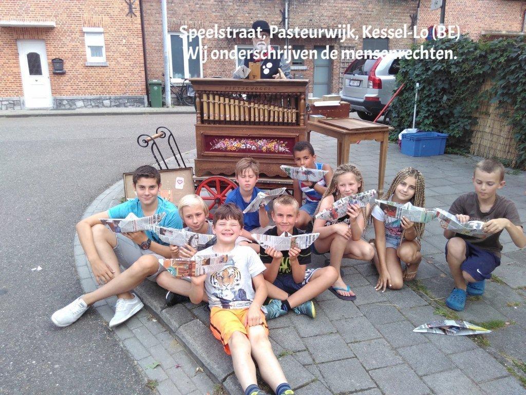 Speelstraat Kessel-Lo