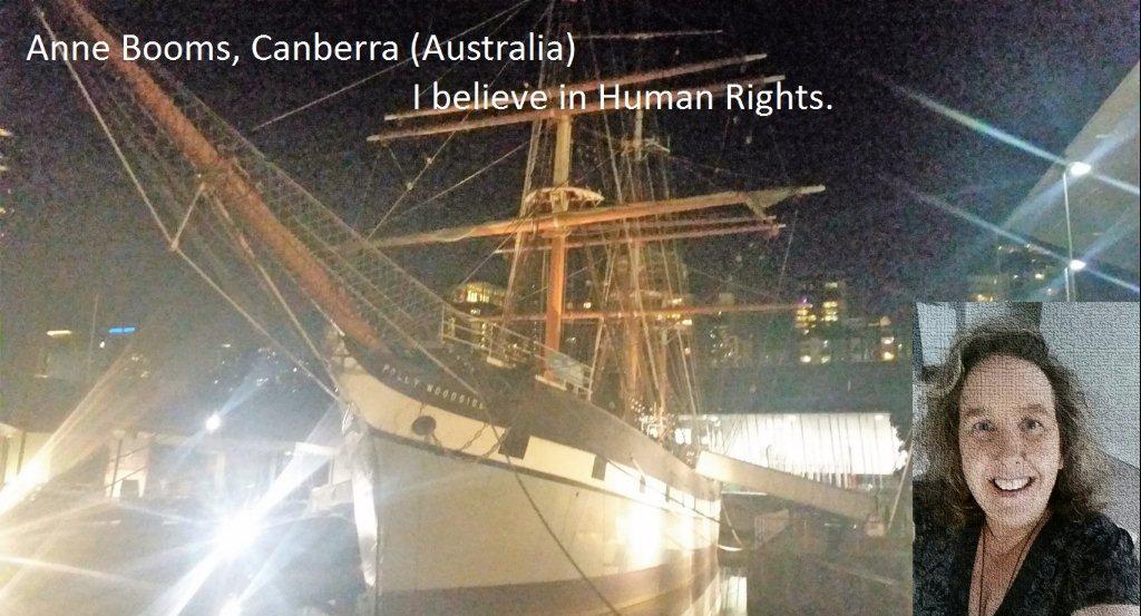 Anne Booms, Canberra Australia