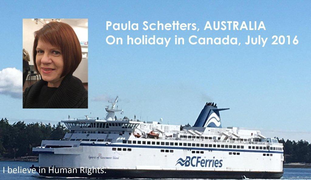 Paula Schetters, Adelaide, Australie