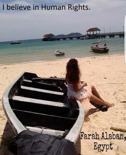 Farah Alaban, Egypte