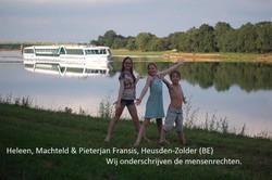 Heleen,Machteld,Pieterjan Fransis