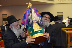 Torah Dedication 2015 הכנסת ספר תורה
