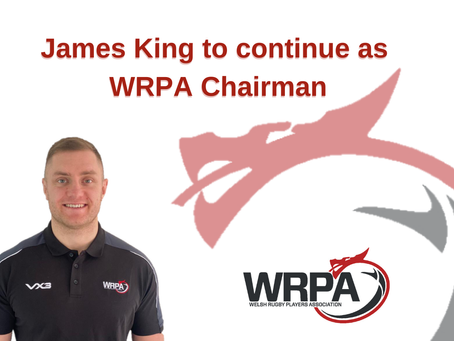 James King to continue as WRPA Chairman.