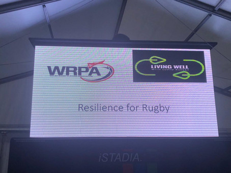 Resilience for Rugby programme launched