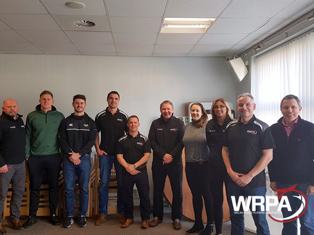WRPA and regional staff complete accredited mental health first aid training.