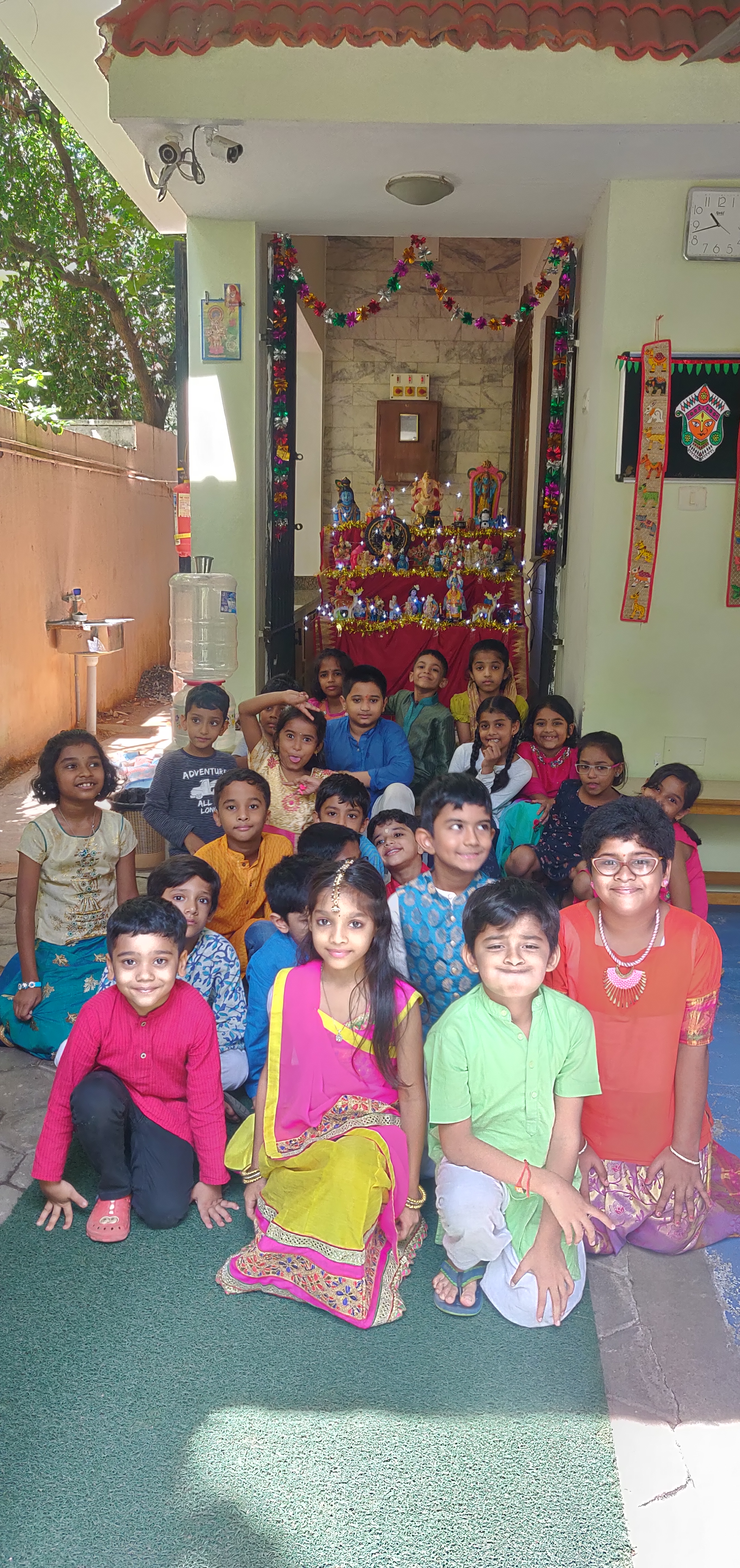 Navratri Celebrations at campus!