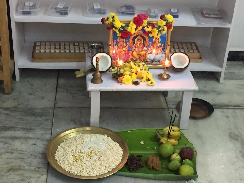 Vijayadasami Celebrations at LE campus
