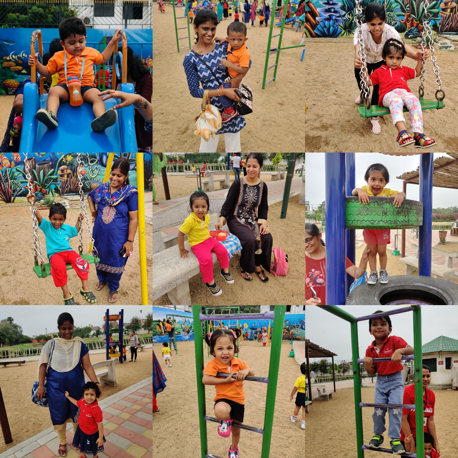 Play time at Eco Park