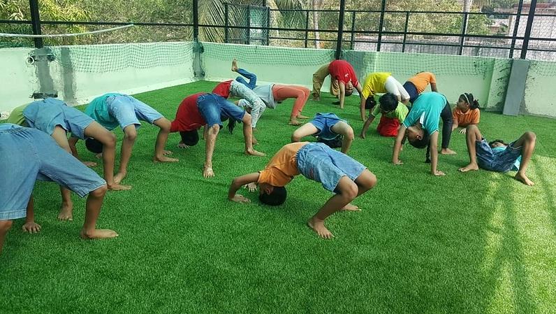 Yoga.. healthy life begins early