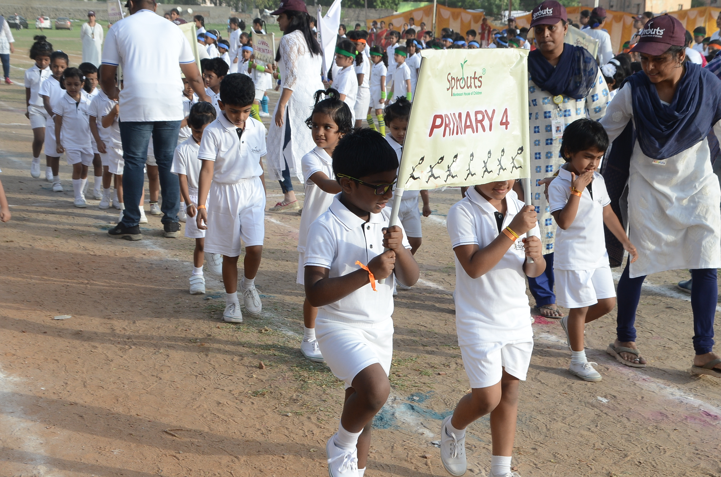 March Past by Primary 4