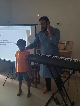 Music is woven deep in the curriculum
