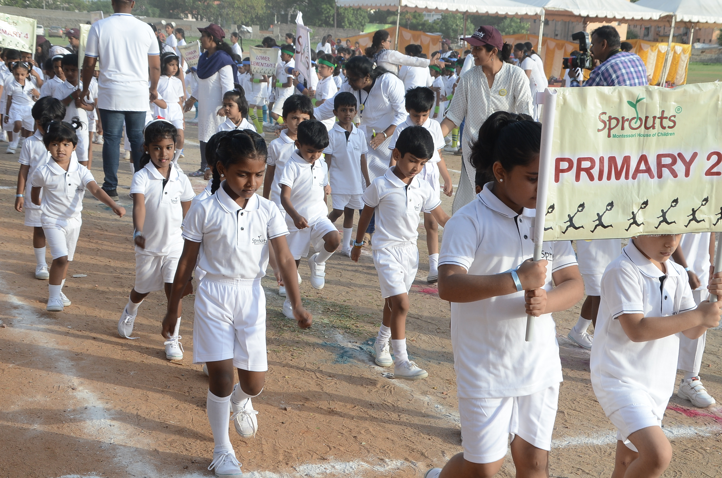 March Past by Primary 2