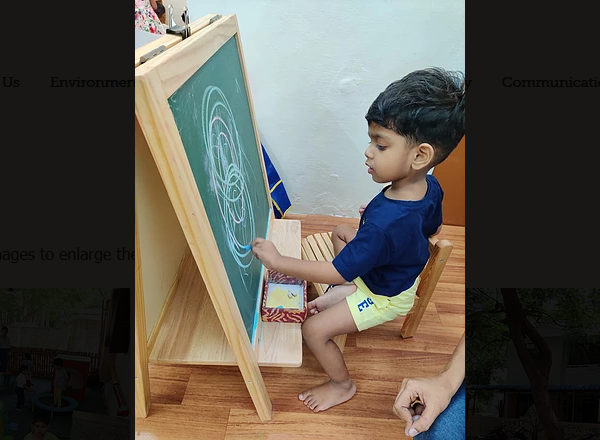 The Easel - perfect way to settle a chil