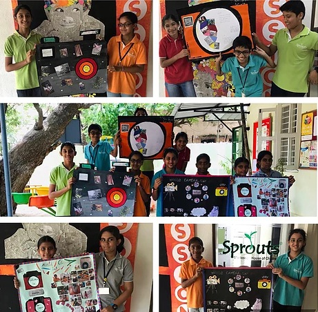 Group activity on World Camera Day