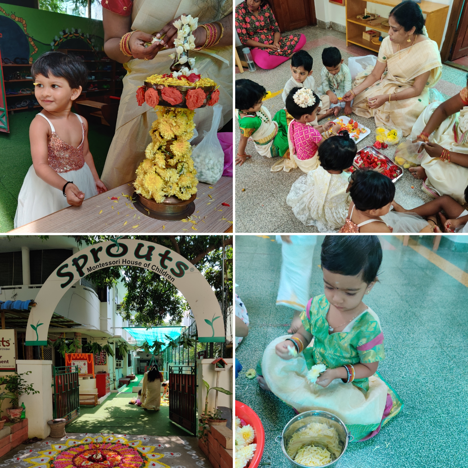 Onam Celebrations at Sprouts Toddler