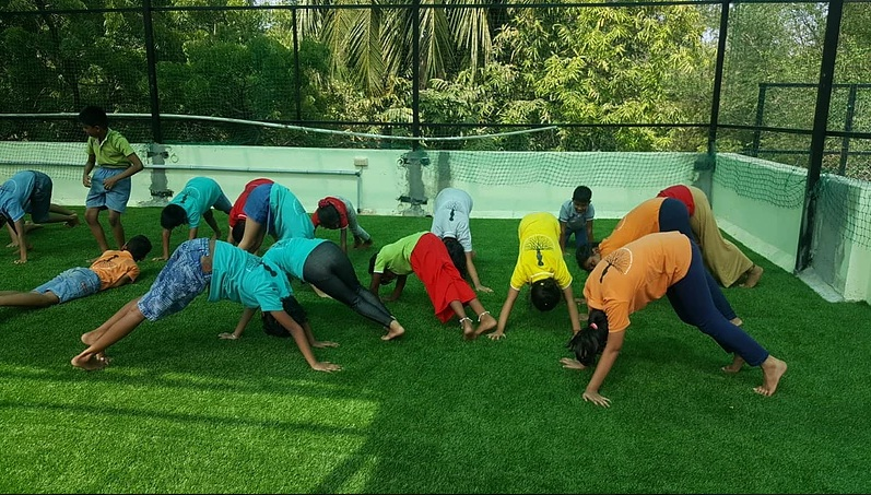 Sports day preparations