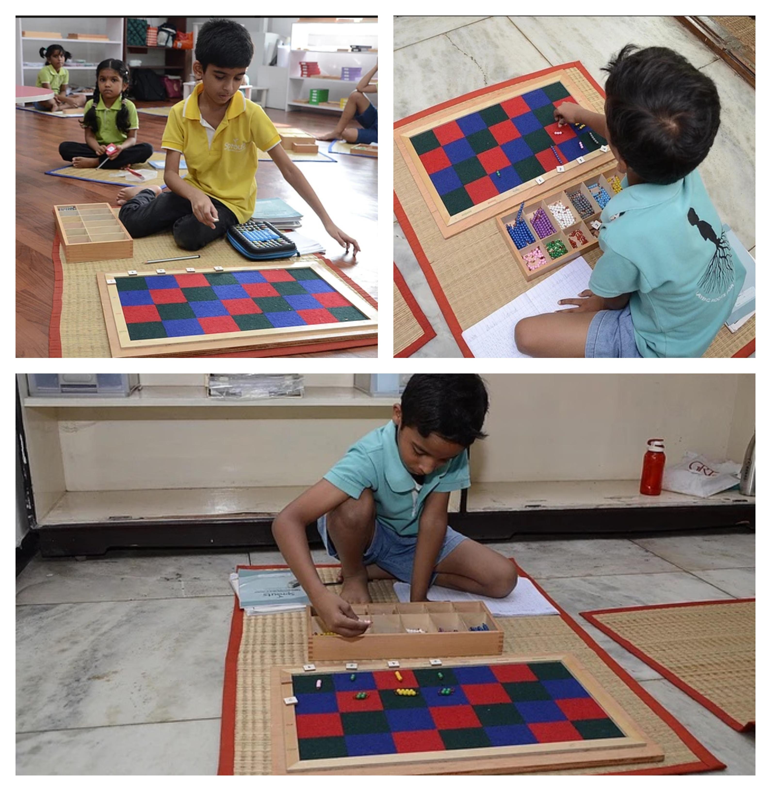 Multi Level Multiplication on Checker Bo