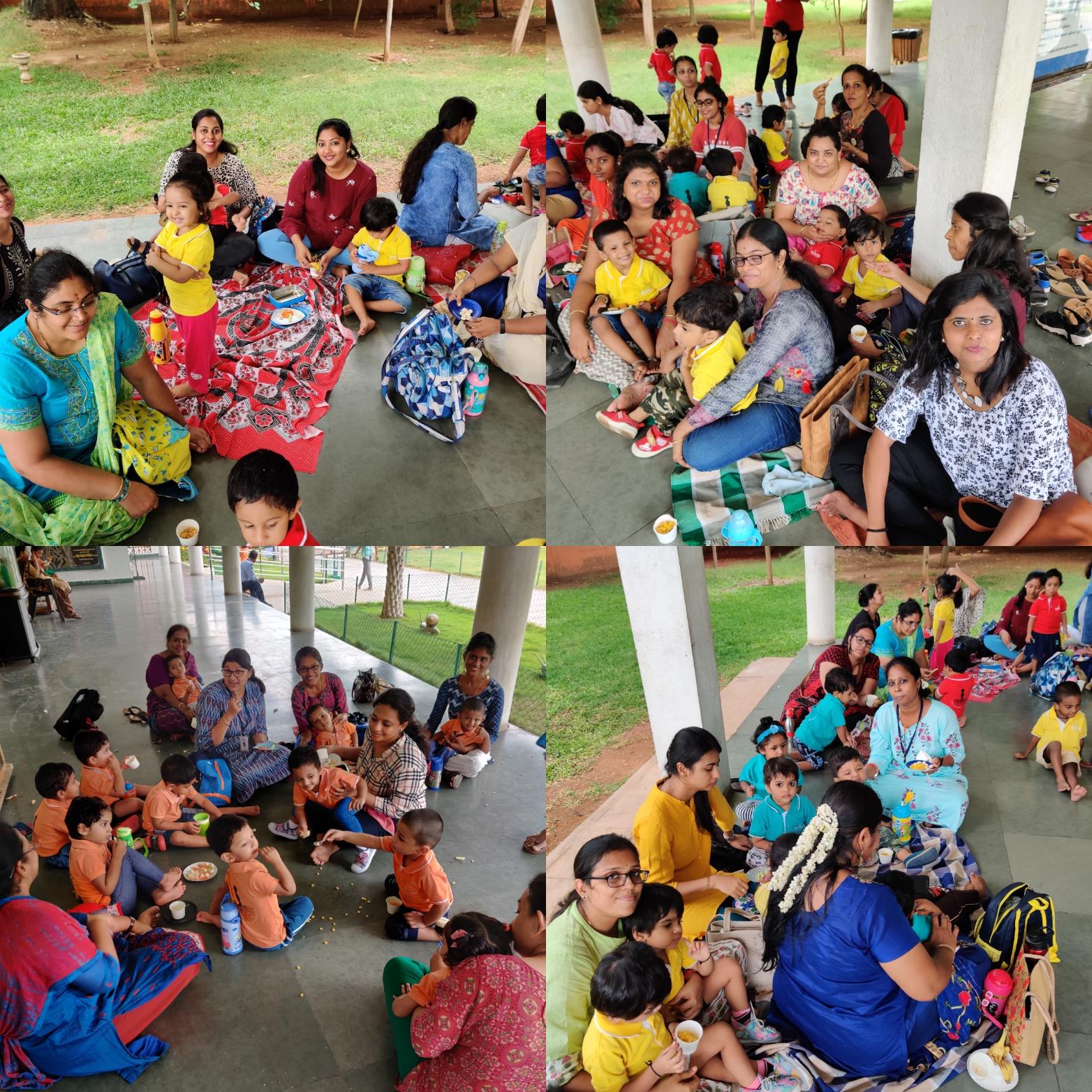 Fun time with parents,teachers,children!
