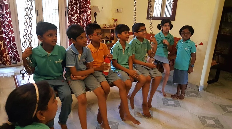 House visit - cultural learning