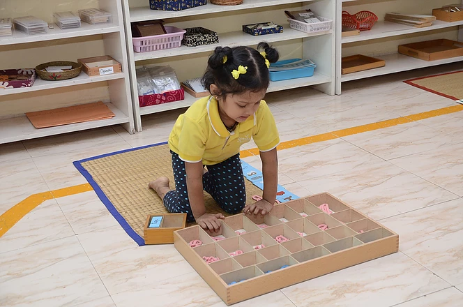 Working with Movable Alphabet Box