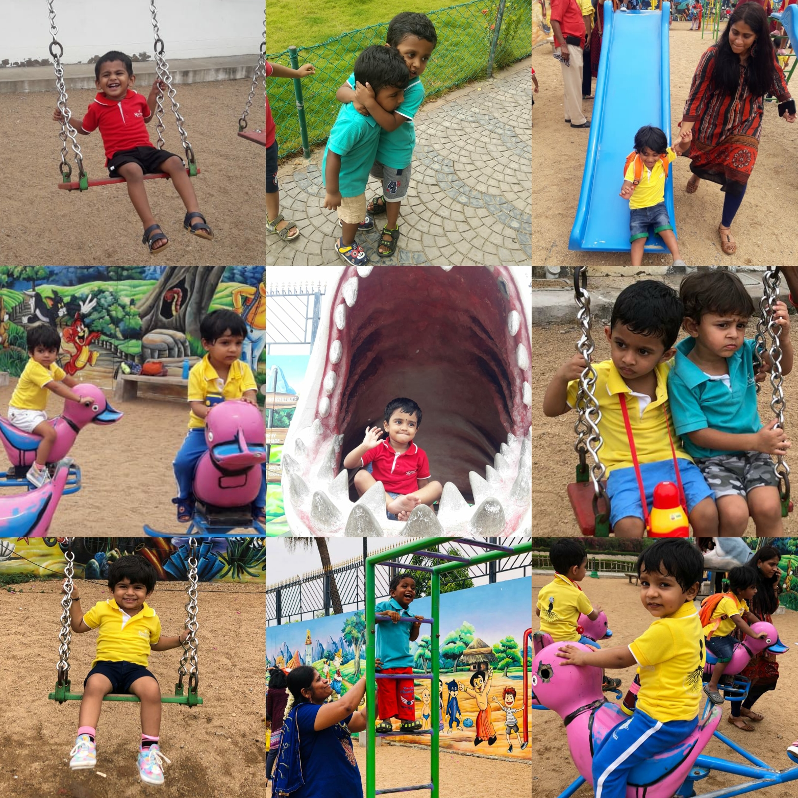 A fun filled day at the Eco Park